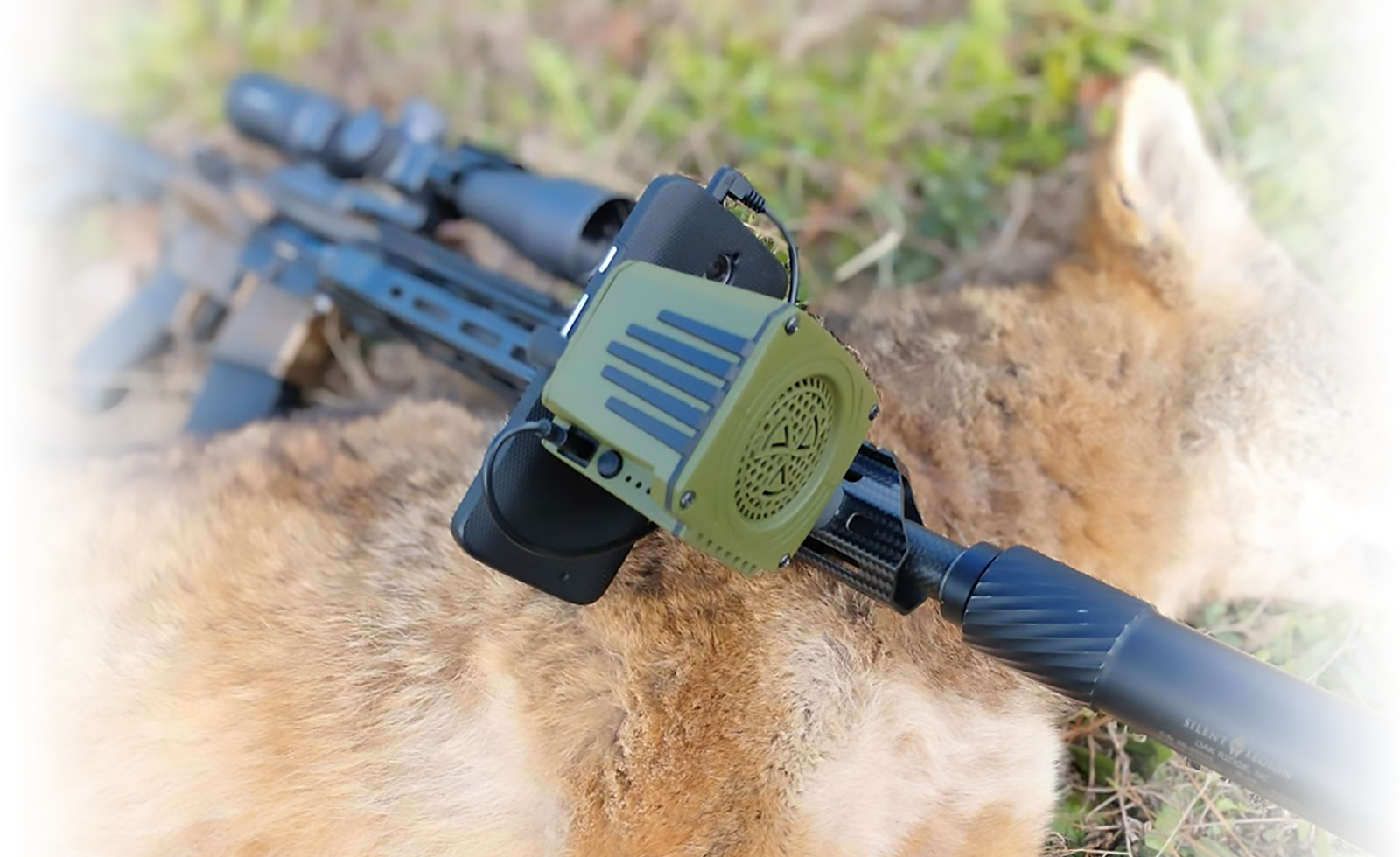 Sidewinder Weapon Mounted Game Call Convergent Hunting Solutions